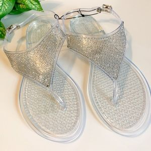 Olivia Miller NWT jelly sandals